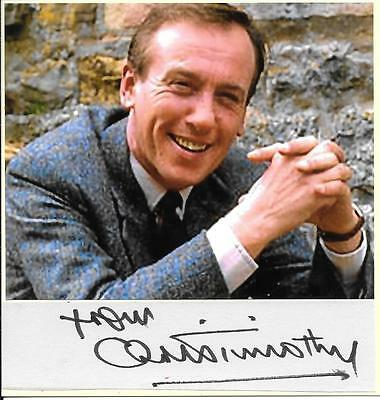 Christopher Timothy - All Creatures Great And Small - Autograph + Photograph Coa