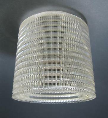 Retro/vintage 60s-70s plastic ceiling light shade space-age/kartell-era