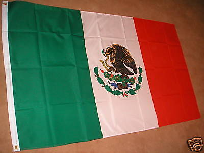 Mexico Mexican Flag Flags 5'x3' Brand New