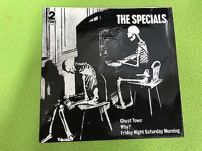 """The Specials - Ghost Town - 7"""" Pic Sleeve (Two-Tone) Chstt17 - Vg - Sale"""