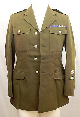King's Royal Hussars Jacket - Military Tunic Top Army Soldier Issued Green A122