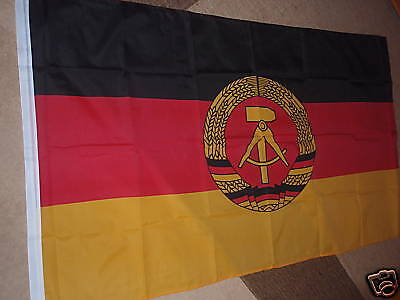 EAST GERMAN DDR FLAG EAST GERMANY 5x3 BRAND NEW