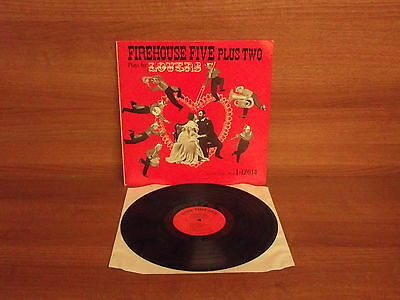 Firehouse Five Plus Two : Plays For Lovers  : Vinyl LP : Good Time Jazz  S 10052