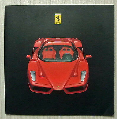 FERRARI ENZO Car Press Media Pack Brochure CD Rom 2002-03 #1854/02