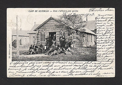 37976/ AK - Camp de Beverloo - Mess d´officiers des guides - o 1903