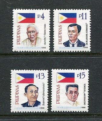 Philippines 2518-2521, MNH. 1998, April 30.  Heroes of the Revolution