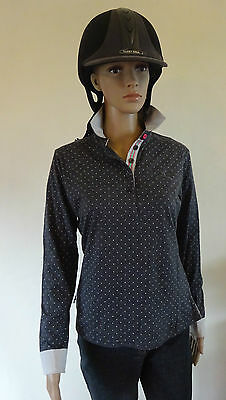 New** Tottie Valerie ** Ladies Polo Top Horse Riding Shirt Ladies Size 10/small