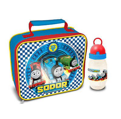 Thomas and Friends - Racing Lunch Bag & Freeze Stick Drink Bottle  *BRAND NEW*