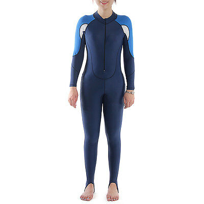 Kid Scuba Swimming Diving Snorkel Surfing Full Suit Wetsuit Rash Guard M
