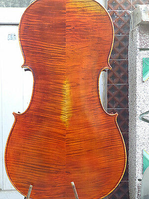 NEW Cello 4/4 Size full Hand made antique old style handcarved