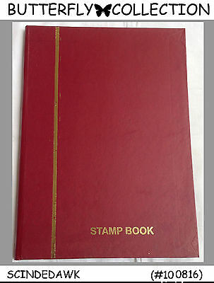 Colorful Collection Of Butterfly / Butterflies Stamps In Small Stock Book