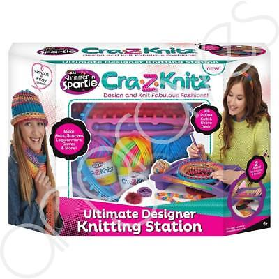 Cra-Z-Knitz Shimmer and Sparkle Design & Knit Fashion Gift Set