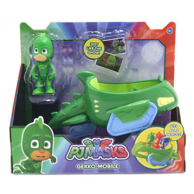 PJ Masks Vehicle and Figure: Gekko-Mobile & Gekko NEW