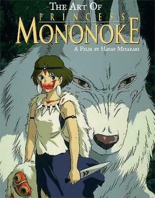 The Art of Princess Mononoke by Hayao Miyazaki Hardcover Book (English)