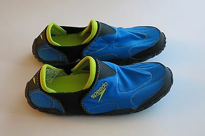 NWT Men's Speedo -12- Offshore Water River Ocean Shoes Neoprene Blue