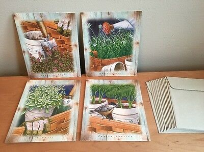 Longaberger Greenhouse Series - Note Cards (Mix B)