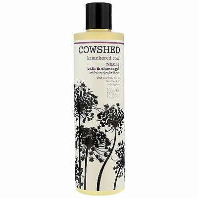 Cowshed Bath & Shower Gels Knackered Cow Relaxing & Gel 300ml for women