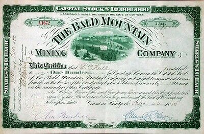 Bald Mountain Mining Company - 1880