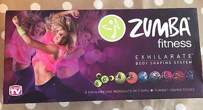 Zumba Fitness Exhilarate Body Shaping System ( Good Used Condition)