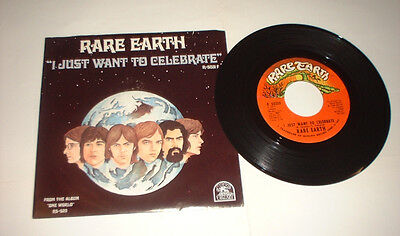 US 1971 R DEAN TAYLOR I JUST WANT CELEBRATE RARE EARTH R 5031 picture cover