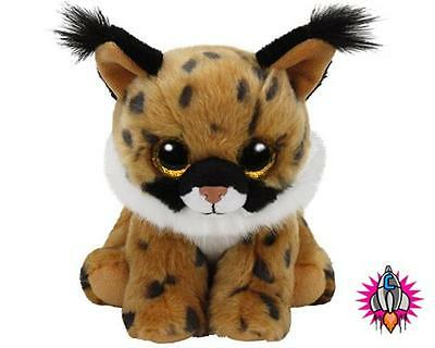 Ty Beanie Babies Boos Larry Lynx Plush Soft Toy New With Tags