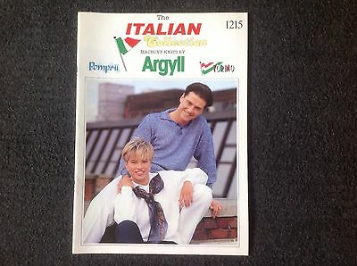 The Italian Collection Machine Knits By Argyll 1215