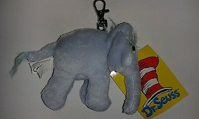Party bag filler 5 Horton the elephant clip ons/keyrings BNWT