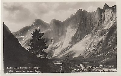 Post Card - Norway / Trollitindene Romsdaten