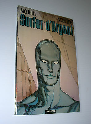 SILVER SURFER D'ARGENT Moebius FRENCH 1st edition casterman 1990 exc Stan lee