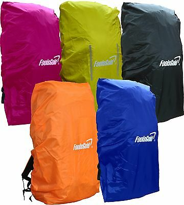 foolsGold XL Waterproof Rain Cover for Hiking / Camping Backpacks 50L - 120L