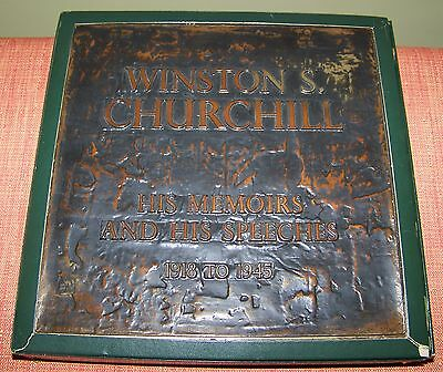 WINSTON CHURCHILL His Memoirs and His Speeches 1918 - 1945 12 LPs LONDON Records