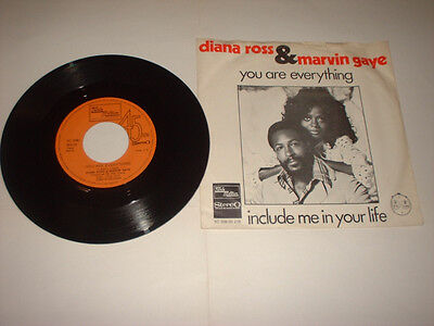 Dutch Marvin Gaye Diana Ross You Are Everything Tamla Motown 5C00695218
