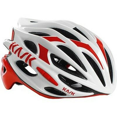 Helmet Kask Mojito 16 White - Red, Large