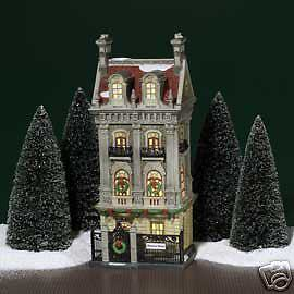 Dept 56  Christmas In The City  Harrison House