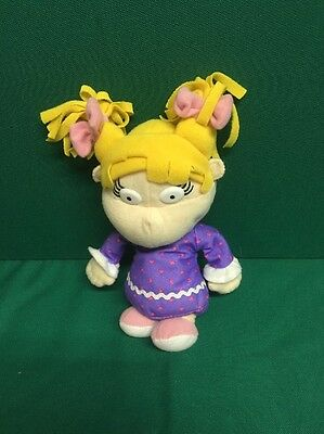 Rugrats Angelica Small Soft Beanie Toy