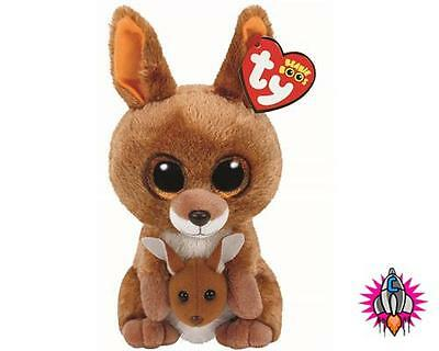 Ty Beanie Babies Boos Kipper Kangaroo Plush Soft Toy New With Tags