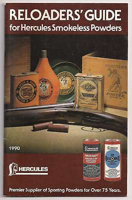 Lot of 3 Reloader's Guide IMR Winchester Hercules Smokeless Powders