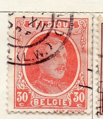 Belgium 1921-25 Early Issue Fine Used 30c. 130831