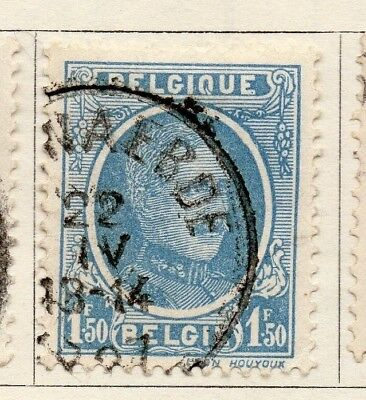 Belgium 1924-27 Early Issue Fine Used 1F.50c. 130848