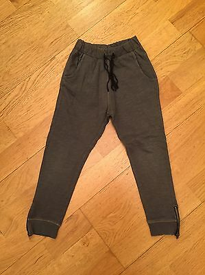 Zara Girls Grey Tracksuit Bottoms Age: 4-5 Years