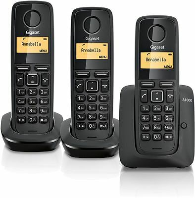 Gigaset A1000 Cordless Telephone - Triple. From the Official Argos Shop on ebay