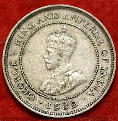 1932 Jamaica Farthing Foreign Coin Free S/H