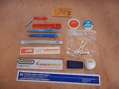 Lot Of 13 Vintage, Original Airline Giveaway Collectibles  (2)