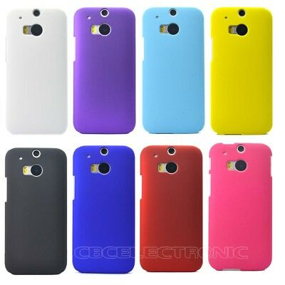For HTC One 2 II M8 Rubberized Matte Snap on Hard case cover