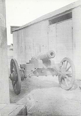 "Mafeking - South Africa - ""Lord Nelson""- Naval Gun - Unposted Postcard"