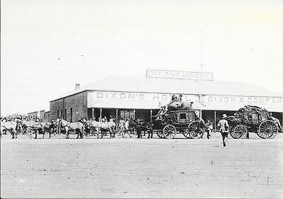 Mafeking - South Africa - Last Coach leaving - 1899 - Unposted Postcard