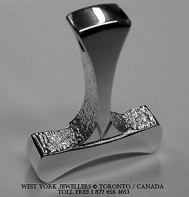 Thors Hammer Pendant Sterling Silver Thor Odin Germany World Cup Soccer Champion