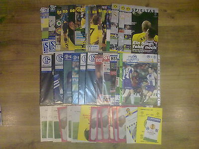 Programme Germany teams in European Cups - Champions League, UEFA Cup (see list)