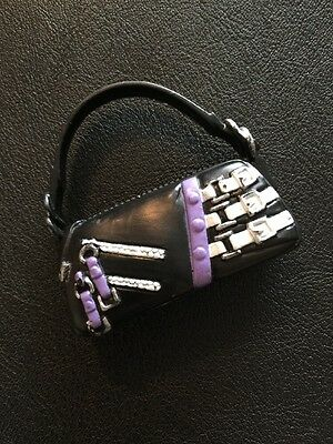 Barbie My Scene Doll Accessories Swappin Styles Black And Lilac Bag