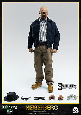 Threezero Breaking Bad Walter White Heisenberg Bryan Cranston 1:6 Figure ~New~